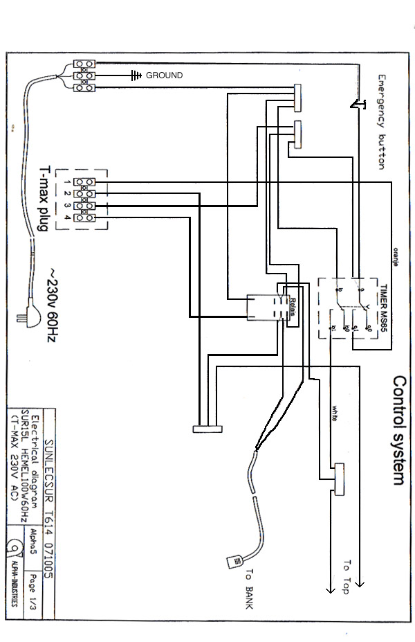 wiring diagrams for tanning beds diagrams free printable wiring diagrams