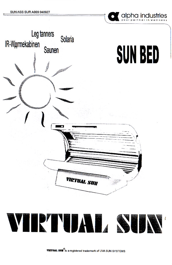 alpha sun tanning bed wiring diagram